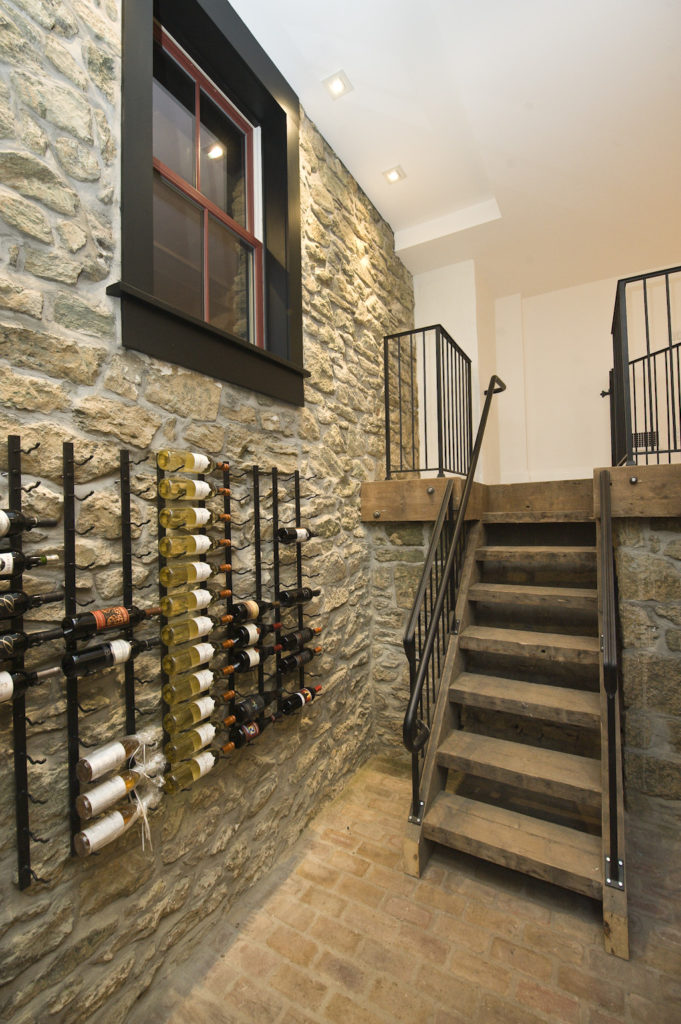 Wine cellar, West Chester, PA.